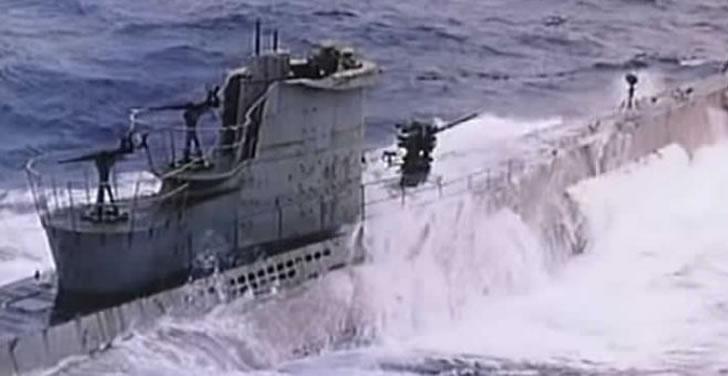 ドイツ軍潜水艦U-571を奪取して暗号機を確保せよ!潜水艦アクション映画「 U-571 」