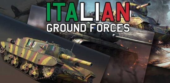 DMM GAMESがサービスを展開しているPC/PS4用マルチコンバットオンラインゲーム『War Thunder』次期アップデートでイタリア軍地上車両ツリー実装決定!特典付プレミアム兵器が予約受付中!