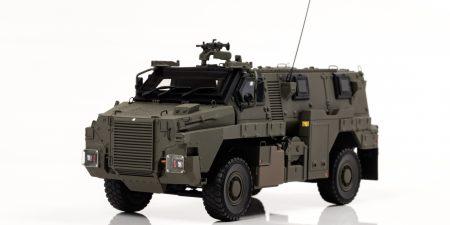 海外邦人救出の為に陸上自衛隊に配備された輸送防護車が 1/43スケール完成品で登場!11月7日から予約受付開始